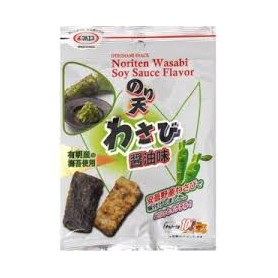 Maruesu Fried Seaweed (Wasabi Soy Sauce) 27g