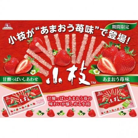 森永草莓味朱古力小枝 61g