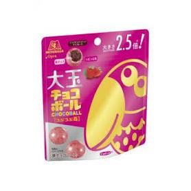 森永大咀鳥草莓朱古力 (大粒袋裝) 50g