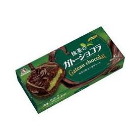 Morinaga Matcha Chocolate Cake