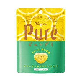 Pure 日本甘樂軟糖 - 檸檬味 56g