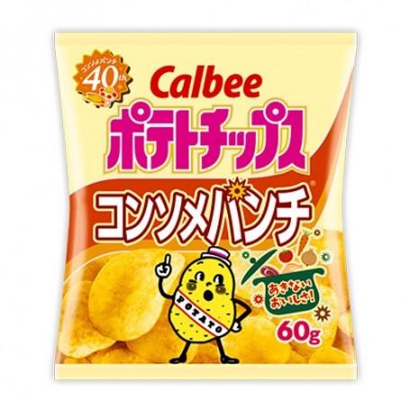 Calbee 日本卡樂B 清湯味薯片 60g