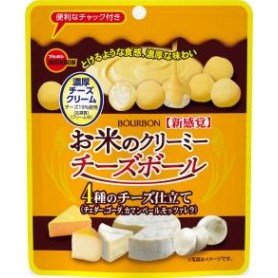 Bourbon Creamy Cheese Rice Ball 28g