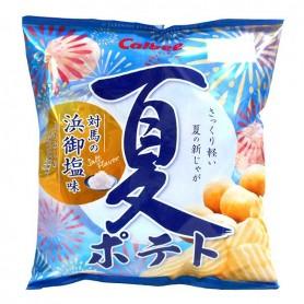 Calbee Japan ポテトPotato Chips - Summer Salty Flavor  65g