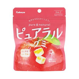 Kabaya Pure & Natural Fruit Gummy (Apple Flavor) 58g