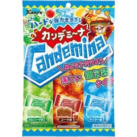 Kanro Candemina Assorted Soda Gummies 64g