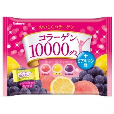 Kabaya 骨膠原 10000 水果味軟糖 170g