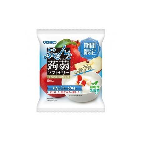 Orihiro 蘋果乳酪味蒟蒻 125g