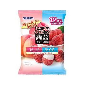 Orihiro 白桃荔枝味蒟蒻