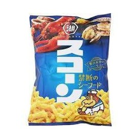 Koikeya 湖池屋 スコーン 禁断のシーフード 海鮮味粟米條 75g