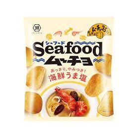 Koikeya Salty Seafood Flavor Potato Chips 55g