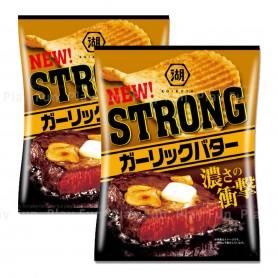 Koikeya Strong Garlic Butter Flavor Potato Chips 56g