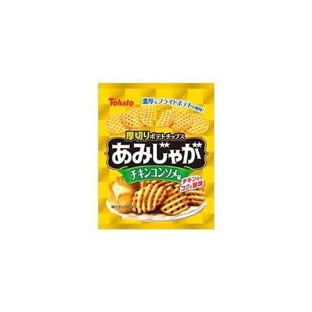 Tohato 雞湯味網狀薯脆 60g