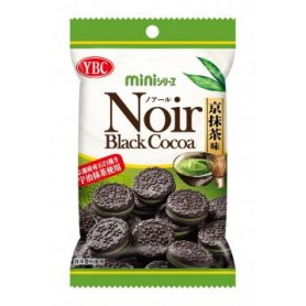 YBC NOIR Mini Black Cocoa Matcha Biscuit 60g