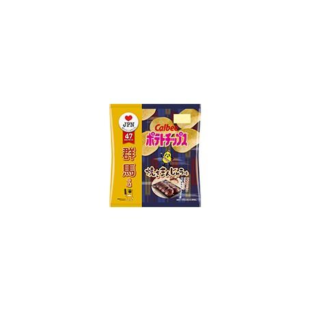Calbee 日本卡樂B 焼きまんじゅう味 群馬縣燒饅頭味薯片 55g