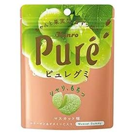Kanro Pure Gummy - Muscat Flavor 56g