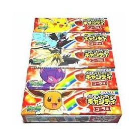 樂天 ポケモン チューイングキャンディ コーラ味 Pokemon 可樂糖 21g