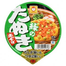 東洋水産 マルちゃん 緑のたぬき天そば 油炸腐皮蕎麥麵 96g
