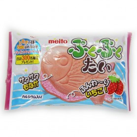 Meito 大魚餅 - 草莓味 16.5g