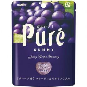 甘樂 Pure ピュレグミ グレープ味 提子味軟糖 - 56g